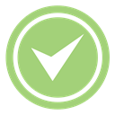 Accept, checkmark, Check, validation, good, correct, valid, Agree, done, success, Approved, ok, Active, confirmed, verify DarkSeaGreen icon