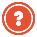 question, customer services, Information, customer support, Questions, Aboutn help, Faq, Advice, Info, quiz, support Tomato icon