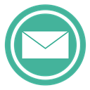 envelope, Message, Rss, News, send, Letter, sending, post, network, mail, inbox, e-mail, notification, subscribe, read, Adresse CadetBlue icon