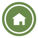 Home OliveDrab icon