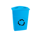 recycle, janitor, Bin, cleaning Black icon