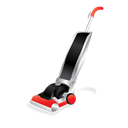 cleaning, Upright, vacuum, hoover, janitor Black icon