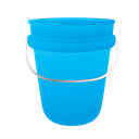 water bucket, janitor, cleaning, Bucket DeepSkyBlue icon