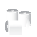 cleaning, tissue, toilet paper, janitor Black icon