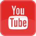 movie, Tv, video, youtube, player, film, play, tube, red, square Crimson icon