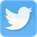 twitter bird, retweet, Follow, square, twitter symbol, blue bird, tweets, twitter, tweet, twit, twitter logo CornflowerBlue icon