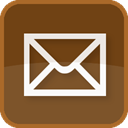 Letter, Email, envelope, Contact, Basic, post, Address, send, square, Delivery, mail, Message, Brown SaddleBrown icon