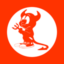 Freebsd, Daemon OrangeRed icon