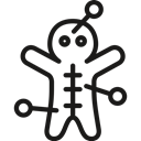 voodoo, doll Icon
