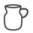 beverage, pot, Artisany, tea, drink, water Black icon