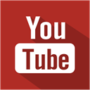 youtube, media, Shadow, Social, set Firebrick icon