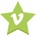 socal, Favorites, Vimeo, star, Best Icon