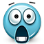 surprised, jaw drop, smiley, shock, Emoticon, smiley face, Dropped jaw, shocked MediumTurquoise icon