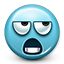Emoticon, smiley face, eye roll, smiley, rolling eyes, dissapointed MediumTurquoise icon