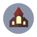 Castle LightSlateGray icon