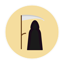 death PaleGoldenrod icon