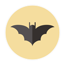 bat PaleGoldenrod icon