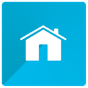 Home, start, Main DarkTurquoise icon