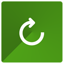 Reload, Reset ForestGreen icon
