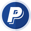 paypal, paypal logo, pay, pay online, sell online, Money, Buy online, payment, online payment DarkSlateBlue icon
