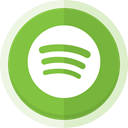 Spotify, Music online, spotify logo YellowGreen icon