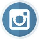 Instagram, Camera, social media, photography, instagram logo SteelBlue icon