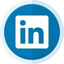 networking, Business, linkedin logo, Linkedin, social media DarkCyan icon