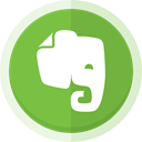 ideas, Workspace, evernote logo, Evernote YellowGreen icon