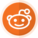 reddit logo, Reddit, social media, sharing, Blogging Chocolate icon