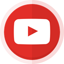 youtube, videos, social media, watch, videography, youtube logo Crimson icon