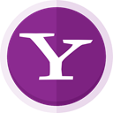 yahoo finance, yahoo news, search engine, yahoo business, yahoo messenger, yahoo, yahoo logo, yahoo mail DarkMagenta icon