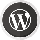 wordpress logo, Wordpress, Online blogging Icon