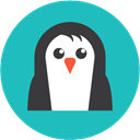 Penguin, google penguin algorithm, google LightSeaGreen icon