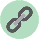 Chain, Link, seo Silver icon