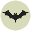 bat, halloween LightGray icon