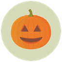 pumpkin, halloween LightGray icon