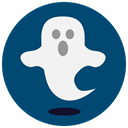 Ghost, halloween MidnightBlue icon