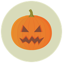 pumpkin, Angry, halloween LightGray icon