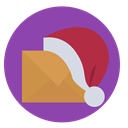 christmas, mail, Contact, santas letter DarkOrchid icon