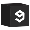 set, media, cube, Social DarkSlateGray icon