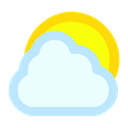 sun, Cloud, Cloudy Icon