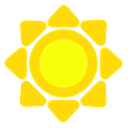sun, pointy Icon