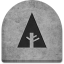 gray, scary, tomb, witch, Social, Boo, media, rock, grave, grey, Cold, Stone, social media, graveyard, tombstone, evil, Forrst, Creepy, halloween, spooky, ghosts, October DarkGray icon