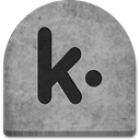 Stone, Social, Cold, witch, October, spooky, grave, scary, rock, Creepy, tombstone, evil, ghosts, social media, Kik, graveyard, halloween, Boo, tomb, media, grey, gray DarkGray icon
