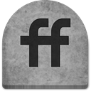 grey, social media, graveyard, rock, Social, tomb, halloween, October, gray, ghosts, media, grave, Friendfeed, Cold, Boo, witch, scary, Stone, evil, Creepy, tombstone, spooky DarkGray icon