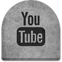 witch, Social, Stone, evil, ghosts, Cold, tombstone, spooky, October, Creepy, rock, tomb, gray, Boo, scary, social media, halloween, grave, media, grey, youtube, graveyard DarkGray icon
