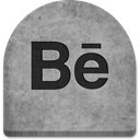 rock, witch, Social, Behance, grey, scary, tomb, Cold, Boo, graveyard, tombstone, evil, social media, grave, media, halloween, Stone, Creepy, gray, spooky, ghosts, October DarkGray icon
