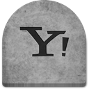 Stone, Social, scary, witch, grey, spooky, Cold, graveyard, October, Creepy, yahoo, social media, halloween, media, Boo, grave, gray, rock, evil, ghosts, tomb, tombstone DarkGray icon