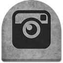 Creepy, rock, spooky, gray, halloween, October, grey, social media, graveyard, ghosts, Cold, Boo, witch, scary, Social, tombstone, tomb, Instagram, grave, media, Stone, evil DarkGray icon