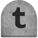 gray, Tumblr, Boo, media, grey, spooky, tomb, graveyard, October, Stone, scary, social media, grave, rock, ghosts, evil, halloween, witch, Social, Creepy, Cold, tombstone DarkGray icon